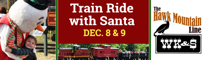 Join Santa, Mrs. Claus, Frosty and the Elves as they bring in the season at the WK&S! FREE gifts for the children...FREE treats for all riders!!! Let the WK&S help to make your Christmas merry and bright!!! Reservations required.